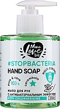 Parfémy, Parfumerie, kosmetika Antibakteriální mýdlo na ruce Karambola a kurkuma - MonoLove Bio Hand Soap With Chlorhexidine