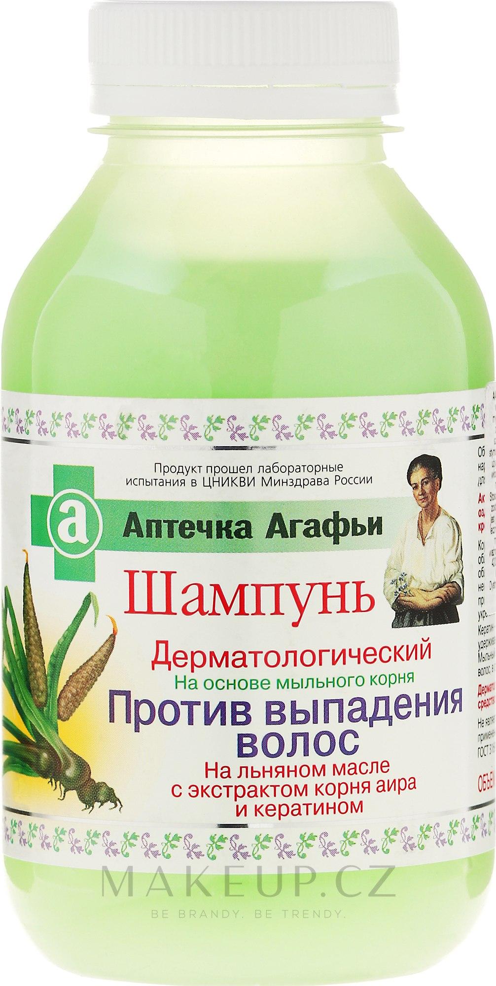 Šampon proti vypadávání vlasů - Recepty babičky Agafyy Lékárnička Agafií  — foto 300 ml