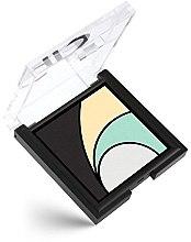 Parfémy, Parfumerie, kosmetika Oční stíny - Golden Rose Longstay Eyeshadow Quattro