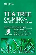 Parfémy, Parfumerie, kosmetika Zklidňující maska s extraktem s čajovým stromem - Some By Mi Tea Tree Calming Glow Luminous Ampoule Mask