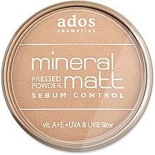 Parfémy, Parfumerie, kosmetika Pudr na obličej - Ados MINERAL MATT