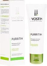 Parfémy, Parfumerie, kosmetika Matující emulze zužující póry - Iwostin Purritin Emulsion