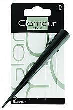 Parfémy, Parfumerie, kosmetika Spona do vlasů, černá - Glamour Style
