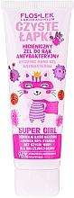 Parfémy, Parfumerie, kosmetika Antibakteriální gel na ruce - Floslek Super Girl Hygienic Antibacterial Hand Gel