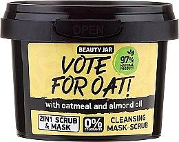 Parfémy, Parfumerie, kosmetika Čistící maska-peeling - Beauty Jar Vote For Oat! Cleansing Mask-Scrub