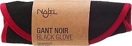 Parfémy, Parfumerie, kosmetika Peelingová pleťová houba - Najel Black Kassa