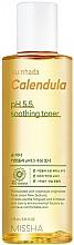 Parfémy, Parfumerie, kosmetika Zklidňující toner Měsíček pro citlivou pleť - Missha Su:Nhada Calendula pH 5.5 Soothing Toner
