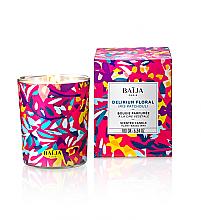 Parfémy, Parfumerie, kosmetika Aromatická svíčka ve skle - Baija Delirium Floral Candle Wax