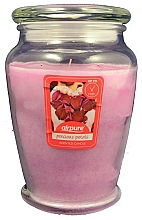 Parfémy, Parfumerie, kosmetika Vonná svíčka Okvětní lístky růží - Airpure Precious Petals Scented Candle