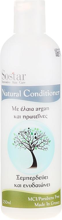 Zvlhčující kondicionér na vlasy - Sostar Focus Argan Oil & Protein Conditioner