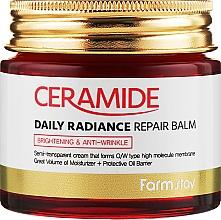 Parfémy, Parfumerie, kosmetika Zpevňující pleťový krém-balzám s ceramidy - FarmStay Ceramide Daily Radiance Repair Balm