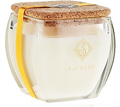 Parfémy, Parfumerie, kosmetika Aromatická svíčka Pomeranč a skořice - Essencias De Portugal Senses Saudade Orange-Cinnamon Candle
