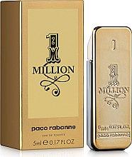 Parfémy, Parfumerie, kosmetika Paco Rabanne 1 Million - Toaletní voda (mini)