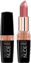 Parfémy, Parfumerie, kosmetika Rtěnka - Wibo Glossy Nude Lipstick