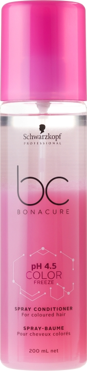 Kondicionér ve spreji na barvené vlasy - Schwarzkopf Professional BC Bonacure Color Freeze Spray Conditioner