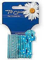 Parfémy, Parfumerie, kosmetika Gumičky do vlasů 12 ks, 22067 - Top Choice
