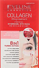 Parfémy, Parfumerie, kosmetika Zpevňující náplasty pod očí - Eveline Cosmetics Collagen Hydrogel Lifting Eye Pads 8in1
