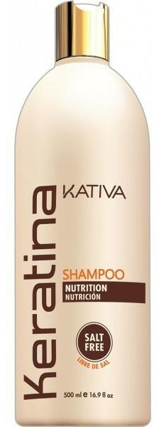 Keratinový zpevňující šampon pro všechny typy vlasů - Kativa Keratina Shampoo — foto N3