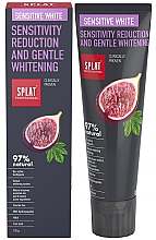 Parfémy, Parfumerie, kosmetika Zubní pasta - SPLAT Professional Bio Sensitive White Sensitivity Reduction & Gentle Whitening