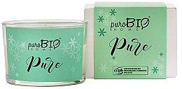 Parfémy, Parfumerie, kosmetika Organická svíčka - PuroBio Home Organic Pure