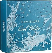 Parfémy, Parfumerie, kosmetika Davidoff Cool Water - Sada (edt/75ml + sh/gel/50ml + ash/balm/50ml)