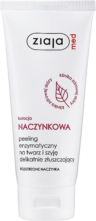 Enzymatický peeling na obličej - Ziaja Med Peeling Enzymatic