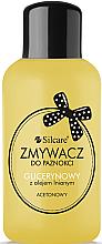Parfémy, Parfumerie, kosmetika Odlakovač s glycerínem a lněným olejem - Silcare