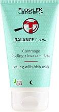Parfémy, Parfumerie, kosmetika Gommage Peeling na obličej s s kyselinami - Floslek Balance T-Zone Gommage Peeling With AHA Acids
