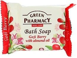 "Parfémy, Parfumerie, kosmetika Mýdlo ""Goji jahody s mandlovým olejem"" - Green Pharmacy"