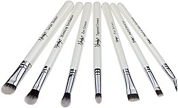 Parfémy, Parfumerie, kosmetika Sada štětců - Nanshy Eye Brush Set P. White (Brush/7ks)