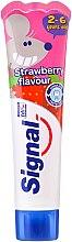 Parfémy, Parfumerie, kosmetika Dětská zubní pasta s jahodovou příchutí - Signal Kids Toothpaste