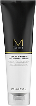 Parfémy, Parfumerie, kosmetika Šampon a kondicionér 2 v 1 - Paul Mitchell Mitch Double Hitter 2 in 1 Shampoo & Conditioner