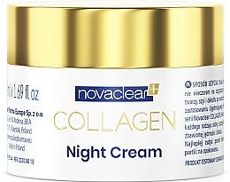 Parfémy, Parfumerie, kosmetika Noční pleťový krém s kolagenem - Novaclear Collagen Night Cream