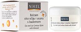 Parfémy, Parfumerie, kosmetika Balzám pod očima a kolem rtů s mandlovým olejem - Nikel Eye and Lip Contour Balm
