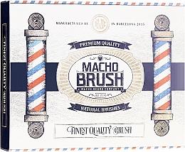 Parfémy, Parfumerie, kosmetika Kartač na vousy, oválný - Macho Beard Company Macho Brush