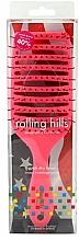 Parfémy, Parfumerie, kosmetika Kartáč pro rychlé vysoušení vlasů, růžový - Rolling Hills Hairbrushes Quick Dry Brush Pink
