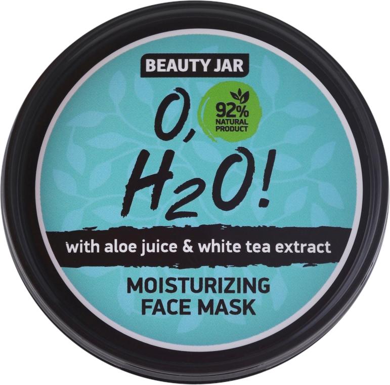 Hydratační obličejová maska - Beauty Jar O,H2O Moisturizing Face Mask