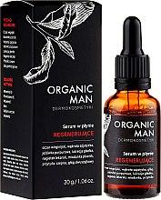 Parfémy, Parfumerie, kosmetika Regenerující obličejové sérum - Organic Life Dermocosmetics Man