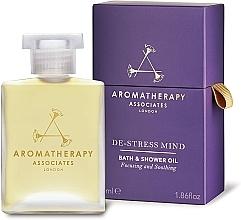 Parfémy, Parfumerie, kosmetika Olej do koupele a sprchy De-Stress - Aromatherapy Associates De-Stress Mind Bath & Shower Oil