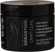 Parfémy, Parfumerie, kosmetika Stylingová hlina na vlasy s matujícím efektem - Sebastian Professional Form Craft Clay Remoldable-Matte
