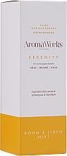 Parfémy, Parfumerie, kosmetika Vonný bytový sprej Klid - AromaWorks Serenity Room Mist
