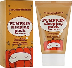 Parfémy, Parfumerie, kosmetika Noční maska s dýňovým extraktem - Too Cool For School Pumpkin Sleeping Pack