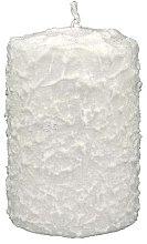 Parfémy, Parfumerie, kosmetika Dekorativní svíčka bíla, 7,5x10 cm - Artman Christmas Candle White