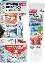 """Parfémy, Parfumerie, kosmetika Zubní prášek na modré bajkalské hlíně """"3D"""" - Fito Kosmetik Lidové recepty"""