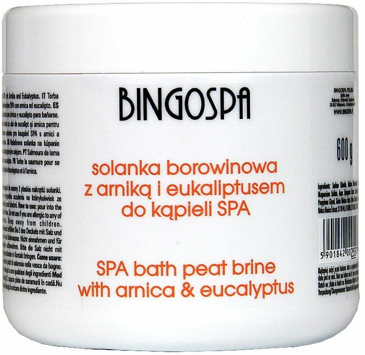 Sůl do koupele s extraktem arniky a eukalyptem - BingoSpa Brine Mud With Arnica And Eucalyptus — foto N1