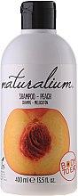 Parfémy, Parfumerie, kosmetika Šampon a kondicionér na vlasy 2v1 Broskev - Naturalium Shampoo And Conditioner Peach