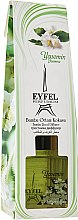 Parfémy, Parfumerie, kosmetika Aroma difuzér Jasmín - Eyfel Perfume Reed Diffuser Jasmin