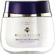 """Parfémy, Parfumerie, kosmetika Utahovací denní krém """"Královský velvet"""" - Oriflame Firming Day Cream SPF 15"""