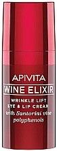 Parfémy, Parfumerie, kosmetika Liftingový krém na rty a oční okolí - Apivita Wine Elixir Cream