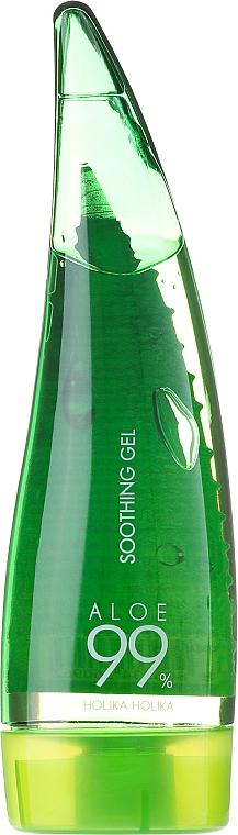 Sada - Holika Holika Aloe Face And Body Care Set (foam/55ml + gel/55ml + sh/gel/55ml) — foto N2